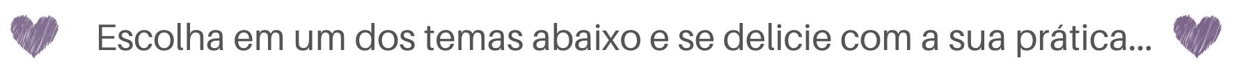 frase para escolher uma dos links